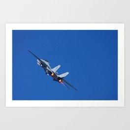 F14 -VF 101 - 'Into the Wild Blue' Art Print
