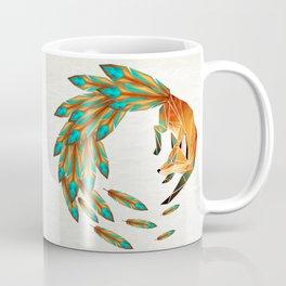 fox circle Coffee Mug