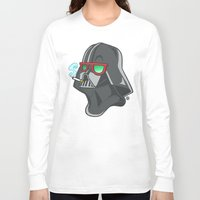 darth Long Sleeve T-shirts featuring Darth by Octofly Art
