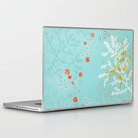 under the sea Laptop & iPad Skins featuring Under the Sea by Simi Design
