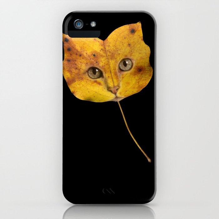 Autumn Cat-1 iPhone Case
