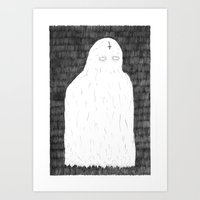 ghost Art Prints featuring Ghost by David Penela