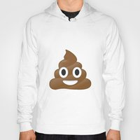 emoji Hoodies featuring Emoji Poo by Emojis on Mugs, Tshirts, Phone Cases & M