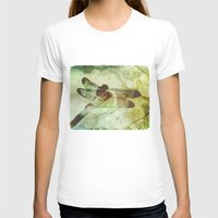 dragonfly T-shirts featuring Dragonfly by SpaceFrogDesigns