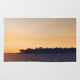 Island at Sunset Rug