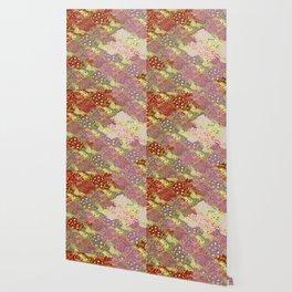 beautiful retro Oriental pattern Wallpaper