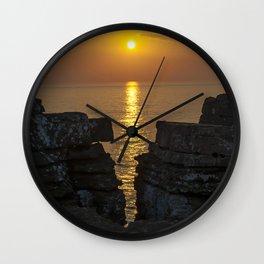 Portuguese Sea Wall Clock