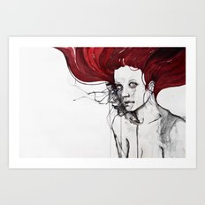 in the flesh Art Print