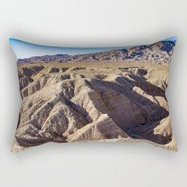 View towards Granite Mountain in the Anza Borrego Desert State Park, California, USA Rectangular Pillow