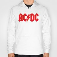 acdc Hoodies featuring ACDC by loveme