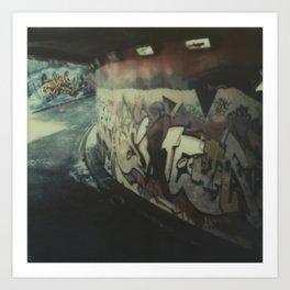 London Graffiti Art Print