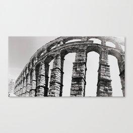 Roman Aqueduct of Segovia Canvas Print