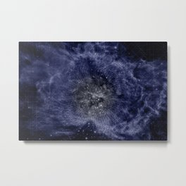 The Living Universe Beyond Our Sensory Perceptions Metal Print