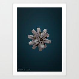 Abstract Ceramic Art Print