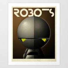Robots - Marvin Art Print