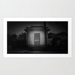 The Christchurch Electricity Substation Project XXX Art Print