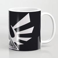 triforce Mugs featuring triforce by Black