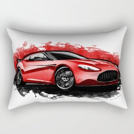 Aston Martin V12 Zagato Rectangular Pillow
