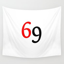 69 Wall Tapestry