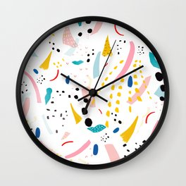 partyline Wall Clock