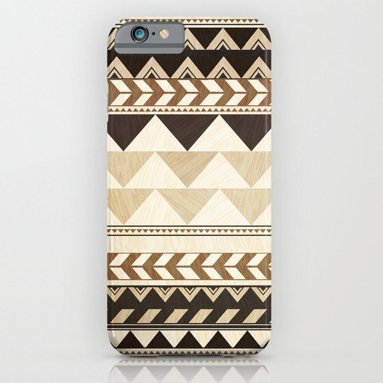 Woodwork Pattern iPhone & iPod Case