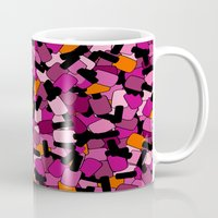 nail polish Mugs featuring Nail Polish by ts55