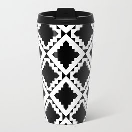 Modern Black Travel Mug
