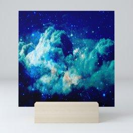 A Deep Cerulean Dream Mini Art Print