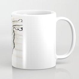 Heart in black and white Coffee Mug