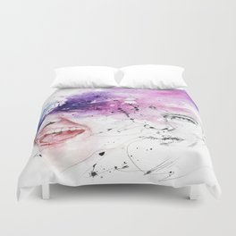 Don't hold your feelings Duvet Cover