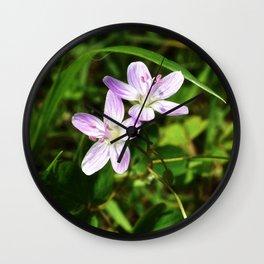 Spring Beauty 04 Wall Clock