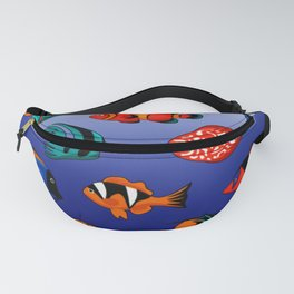 Peces tropicales Fanny Pack