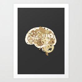 mental machine Art Print