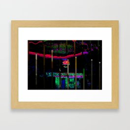 Yg7ejvb-1 (Sunset) Framed Art Print