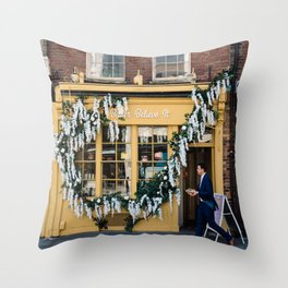 The pastry shop Throw Pillow