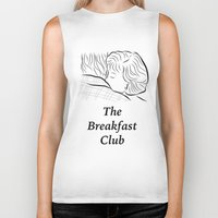 the breakfast club Biker Tanks featuring The Breakfast Club  by Luster