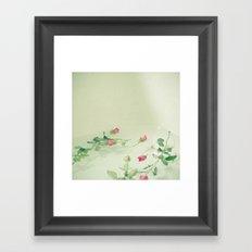 Floating Away Framed Art Print