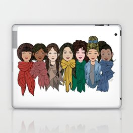 Scarf Rainbow Laptop & iPad Skin