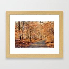 colors. Framed Art Print