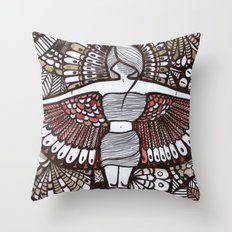 Freedom Feeling Throw Pillow