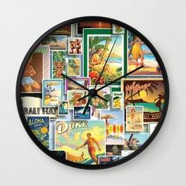 VH by JC Logan Wall Clock
