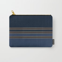 Dark blue combo pattern Carry-All Pouch