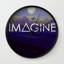 Imagine Inspirational Wall Clock