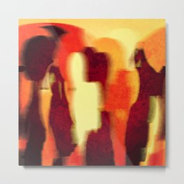 Shadow People Metal Print