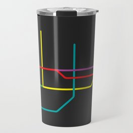 busan metro map Travel Mug
