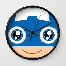 Adorable Captain Wall Clock