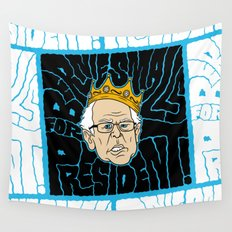 Bernie Smalls for President Wall Tapestry