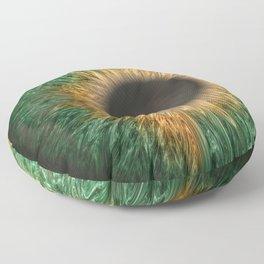 The Green Iris Floor Pillow