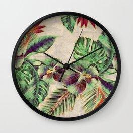 Miami Garden Wall Clock