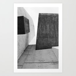 Ronchamp | Notre Dame du Haut chapel | Le Corbusier architect Art Print